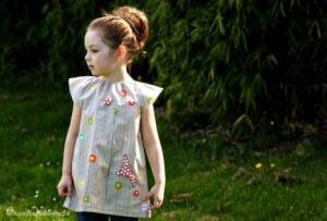 Детские платья-туники на лето 2015