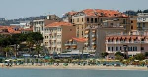 Популярный итальянский курорт Сан-Ремо
