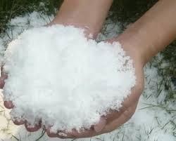 Как получить искусственный снег?