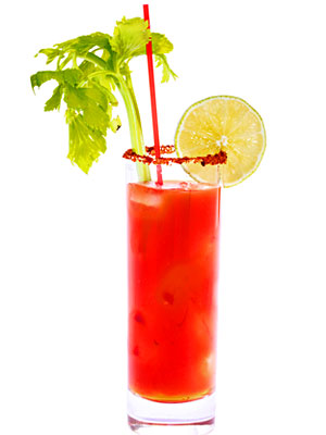 Рецепт коктейля «Кровавая Мэри»