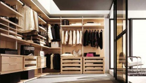 Лучший дизайн гардеробной комнаты