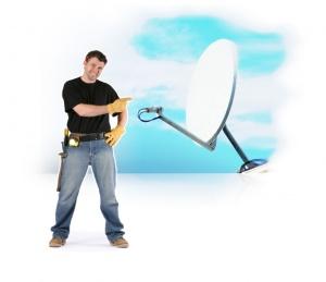 Как установить спутниковое телевидение