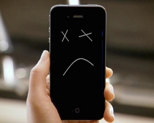 Что делать, если разрядился iphone?