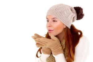 Вязаные шапки никогда не выйдут из моды!