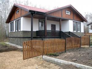 Достоинства щитовых домов