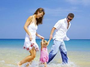 Семейный отдых у моря