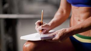 Ведем дневник для тренировок