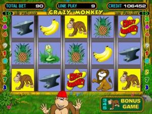 Игровой слот crazy-monkey: информация об игре