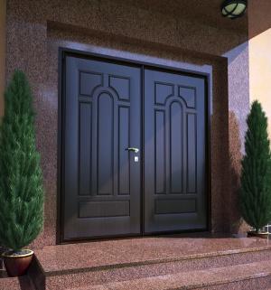 От входных дверей в дом зависит безопасность семьи