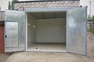 Устанавливаем ворота в гараже самостоятельно