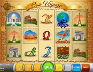 Игровой автомат Bon Voyage