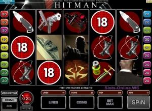 Обзор игрового автомата HITMAN
