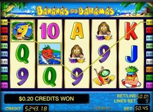 Обзор игрового автомата «Бананы едут на Багамы»