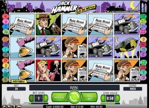 Обзор игрового слота Jack Hammer от NetEnt