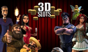 Игровые аппараты, выполненные в формате 3D