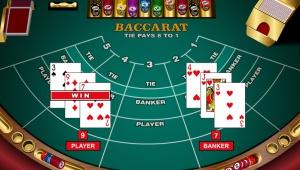 Как играть в карточную игру онлайн Баккара?