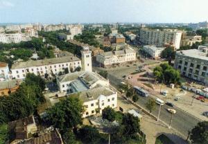 Город Хмельницкий. История