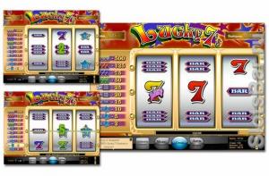 Игровой слот Lucky 7
