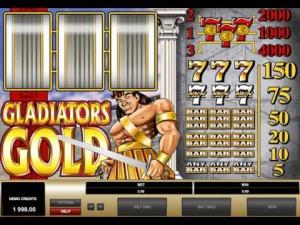 Игровой слот Gladiators Gold про гладиаторские бои
