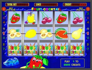 Игровой автомат Клубничка / Fruit Cocktail