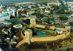 Географическое расположение города Луцк