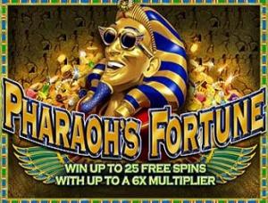 Как играть в слот Pharaoh's Fortune?