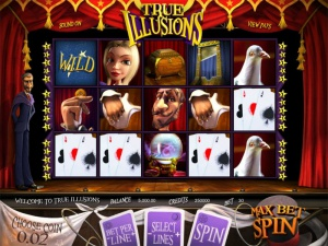 Обзор игрового слота True Illusions