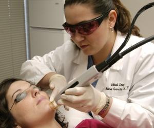 Чистка лица и лазерная эпиляция